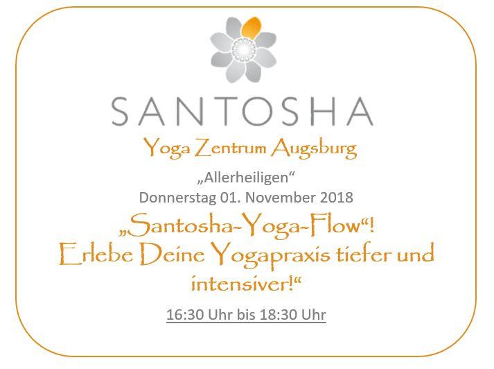 Santosha Sonderprogramm Yoga