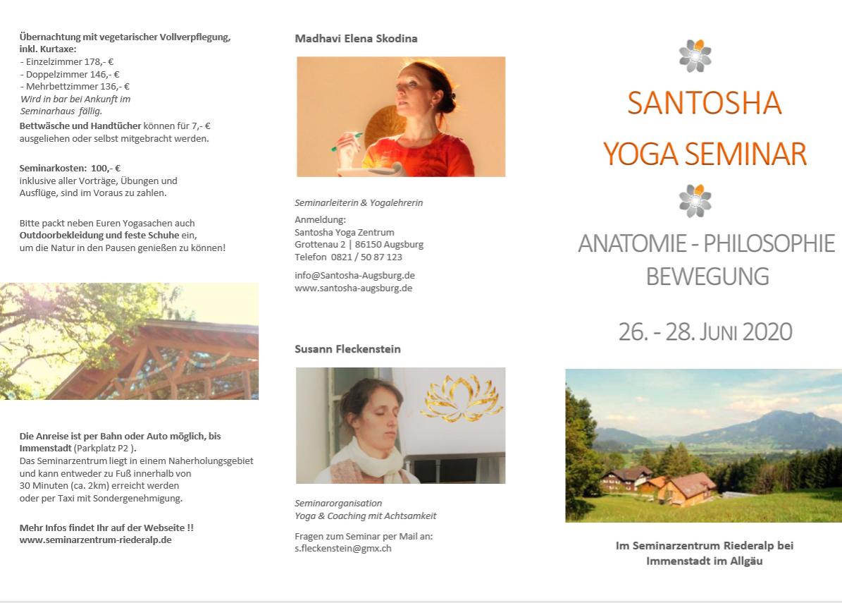 Yoga Seminar 1