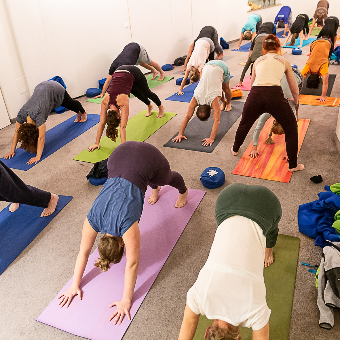 Yogakurs für Fortgeschrittene im Santosha Yoga Augsburg